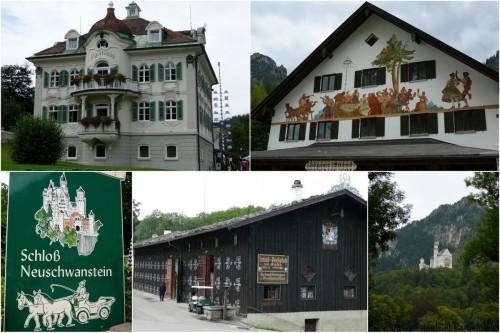 Alentours du chateau de Neuschwanstein
