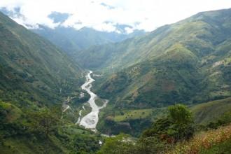 Vallee Rio Vilcanota inca jungle trail rando