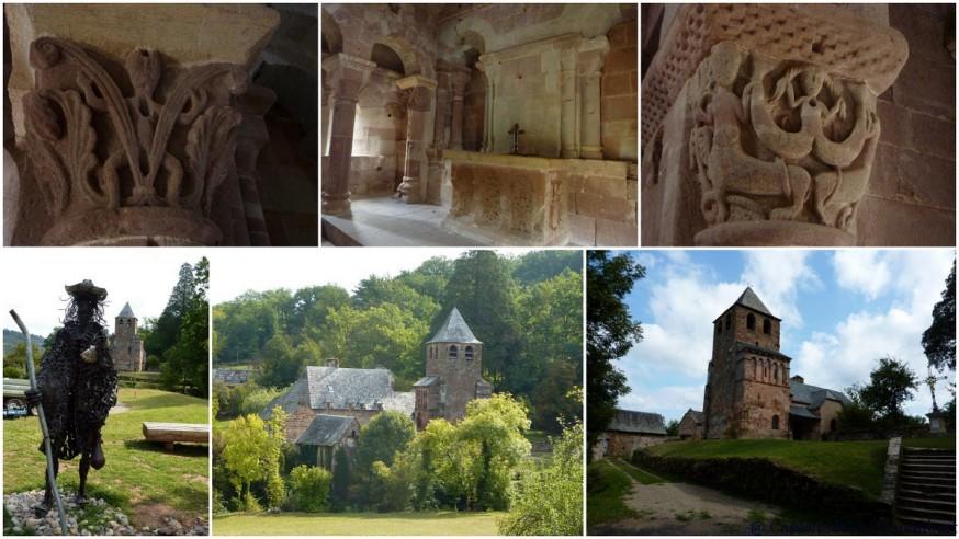 Église Saint-Pierre de Bessuéjouls- compostelle lot