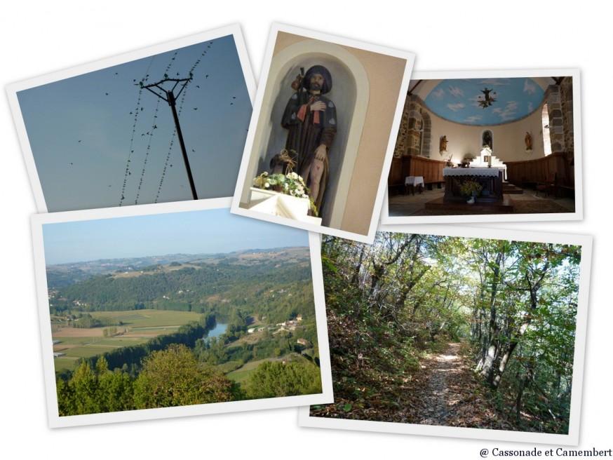Compostelle Quercy - Chapelle St Roch Livinhac