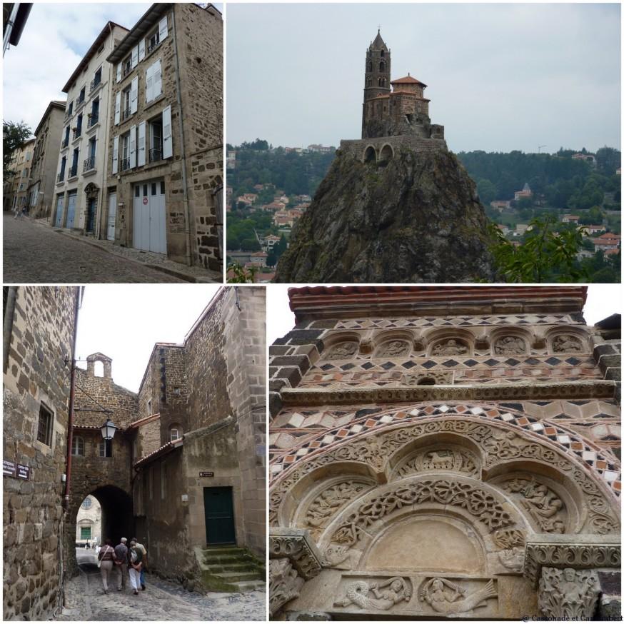 Chapelle Saint –Michel d'Aiguilhe - compostelle le puy en velay