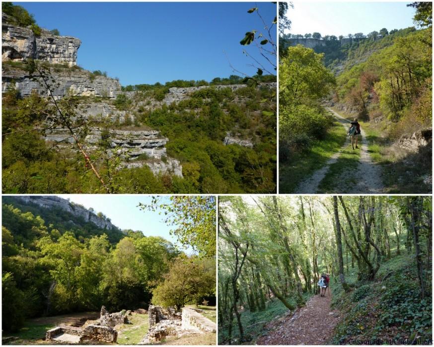 Compostelle Rocamadour Gorges de l'Alzou