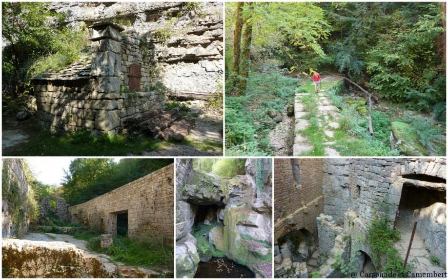 Compostelle Rocamadour Moulins Alzou