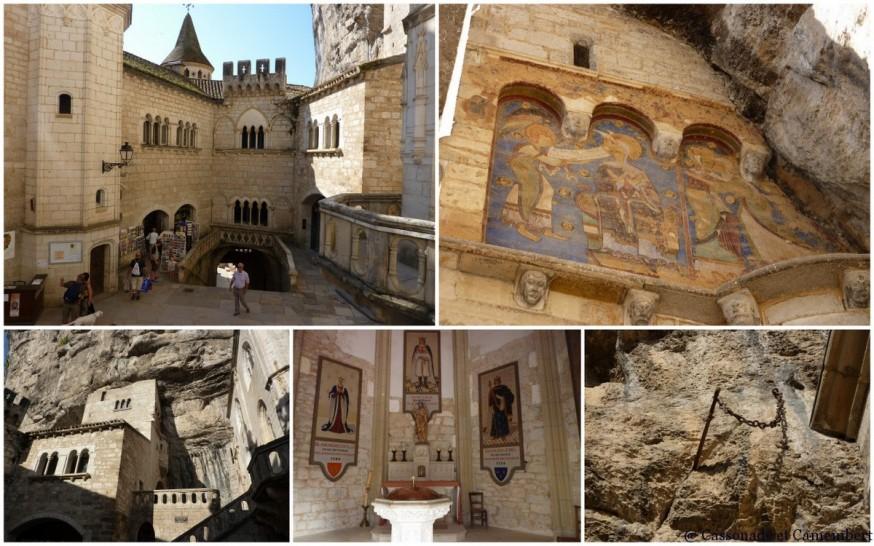Compostelle Sanctuaire de Rocamadour