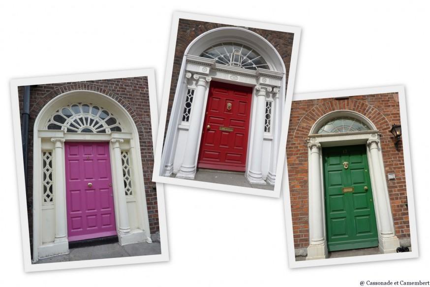 Portes style géorgien Dublin