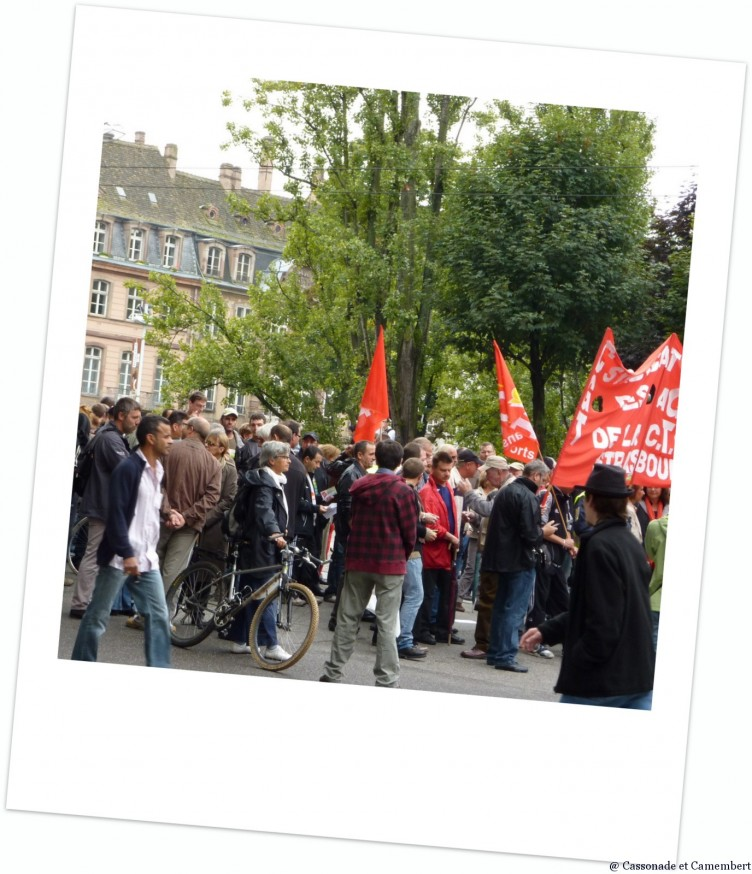 Manif Strasbourg