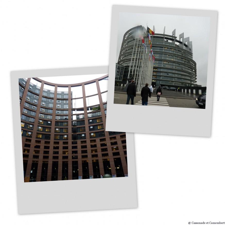 Parlement europeen Strasbourg