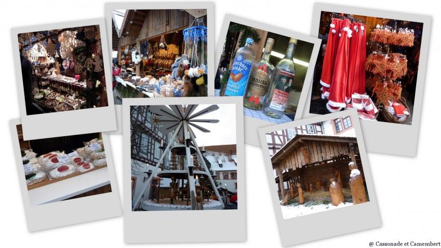 Stands marché de Noel de Michelstadt