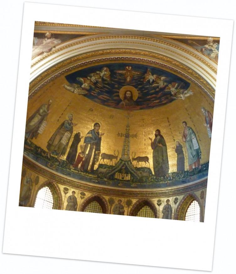 Mosaique St Jean de Latran Rome