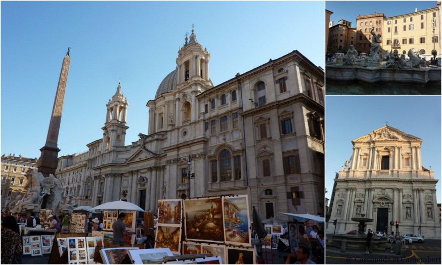 Place Navona Rome