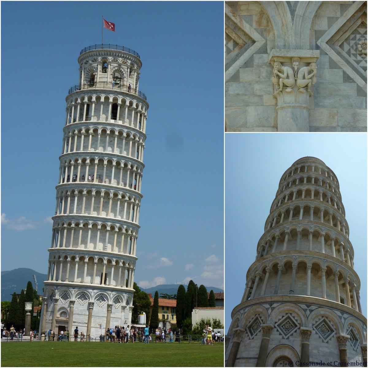 Pise bien plus qu 39 une tour cassonade et camembert - Date de construction de la tour de pise ...