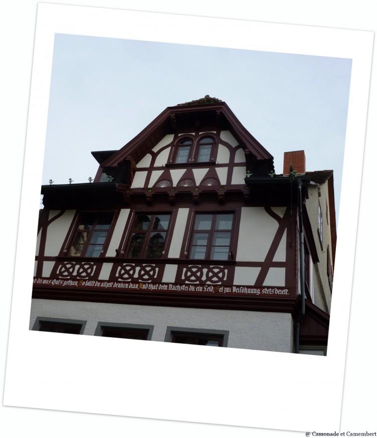 Maison colombages Konstanz