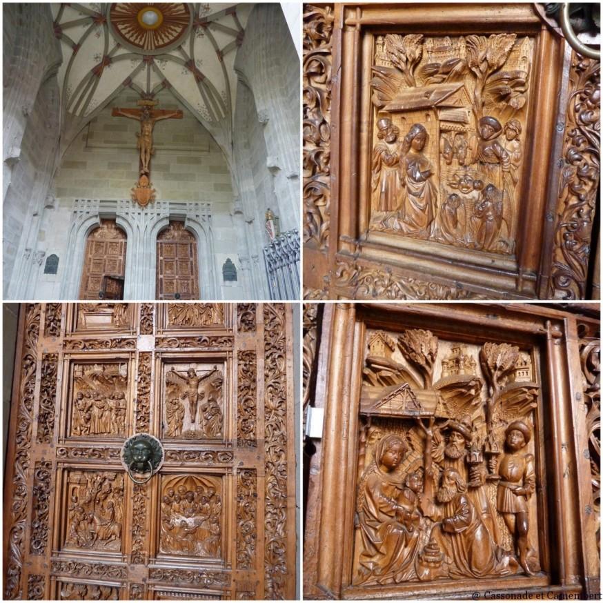 Portes cathédrale Konstanz