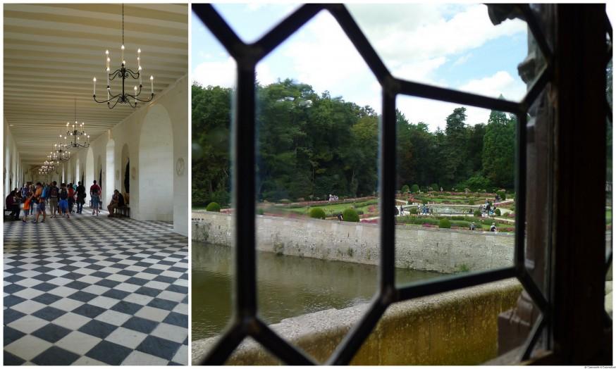 Galerie chateau de Chenonceau