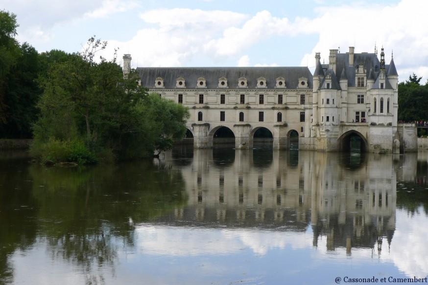 Sur le cher chateau de Chenonceau