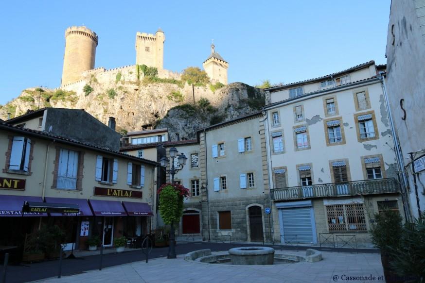 Chateau de foix ariege