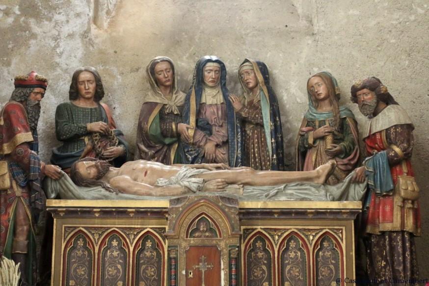 Mise au tombeau Abbatiale Saint-Volusien foix ariege