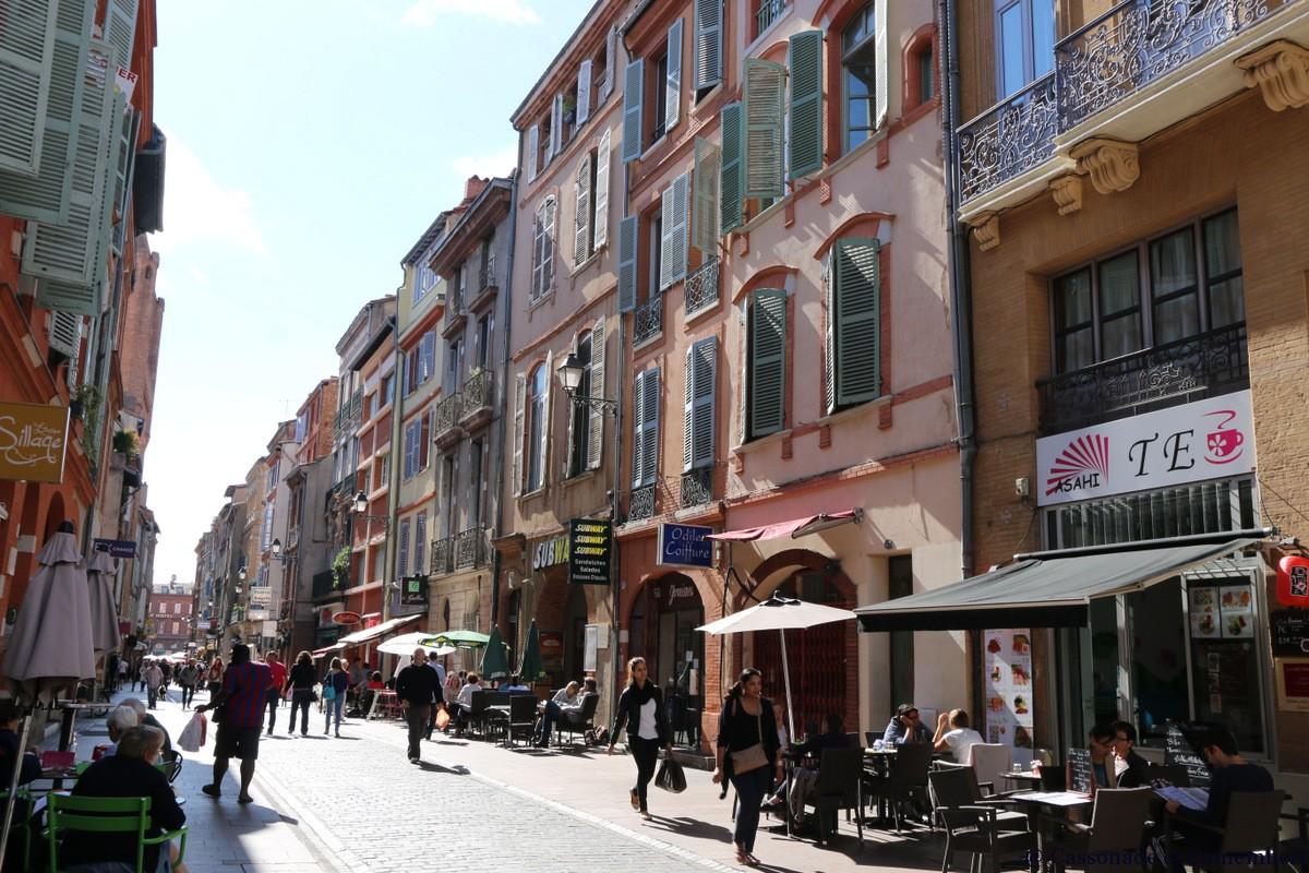 Rue De Fond Ef Bf Bd Ville Toulouse