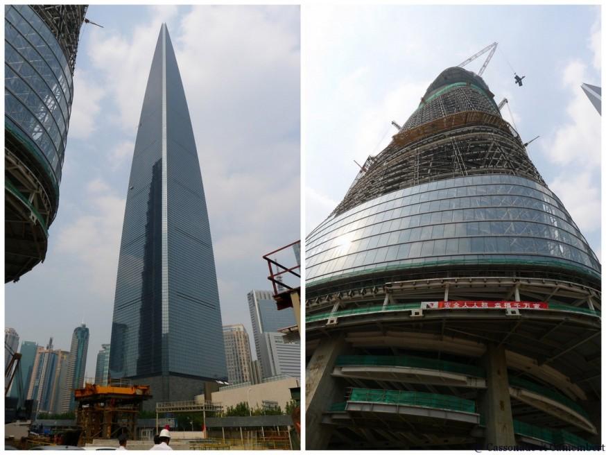 Gratte-ciel shanghai