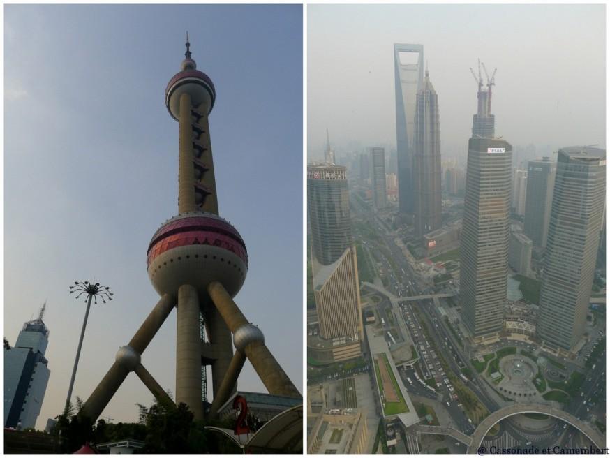 Oriental Peal Tower gratte-ciel Shanghai