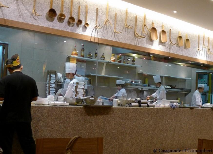 Restaurant Din Tai Fung Nanjing Outlet Shanghai cuisiniers