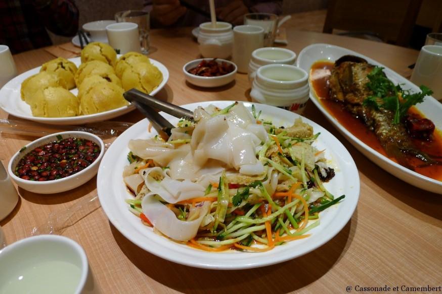 Restaurant Din Tai Fung Nanjing Outlet Shanghai cuisiniers plats