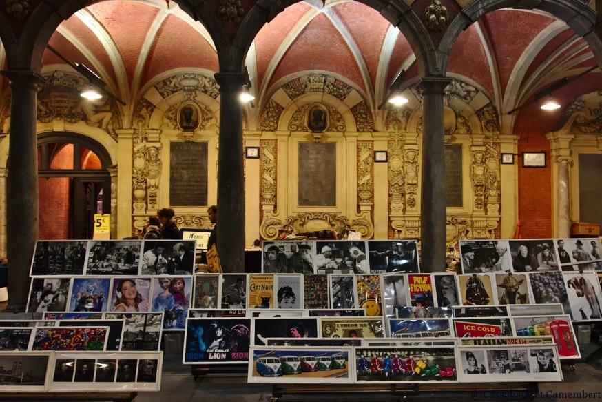 Posters vieille bourse de Lille
