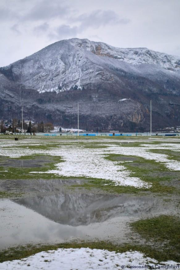 Mont Veyrier Annecy sous la neige