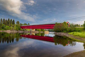 Pont couvert de Grands Remous - Pont savoyard