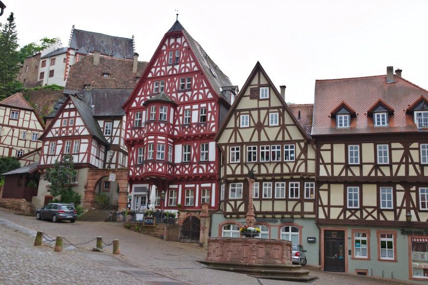 Place du marché - Miltenberg
