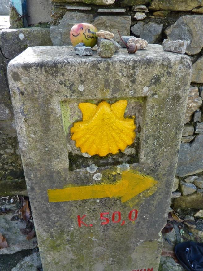 Plus que 50 kilomètres - Galice - Compostelle