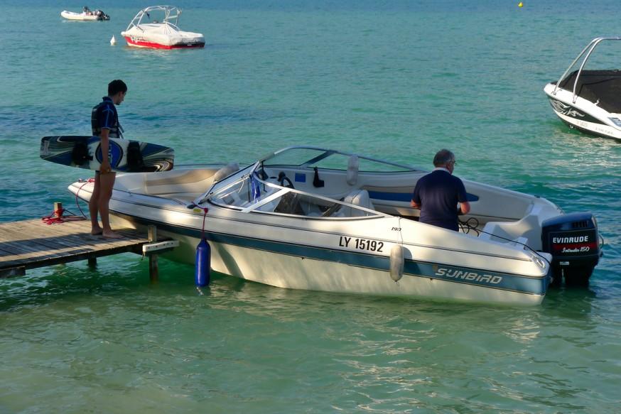 Lac d Annecy - Petit bateau