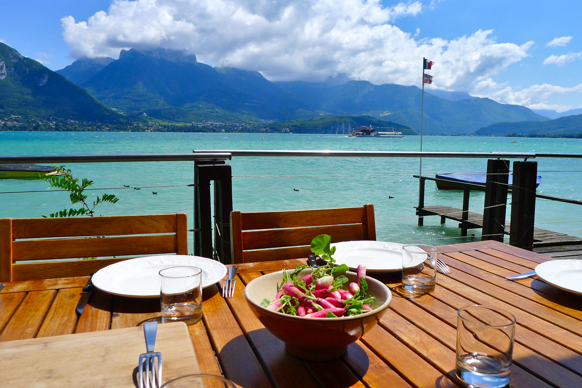 Bon Restaurant Au Bord Du Lac D Annecy
