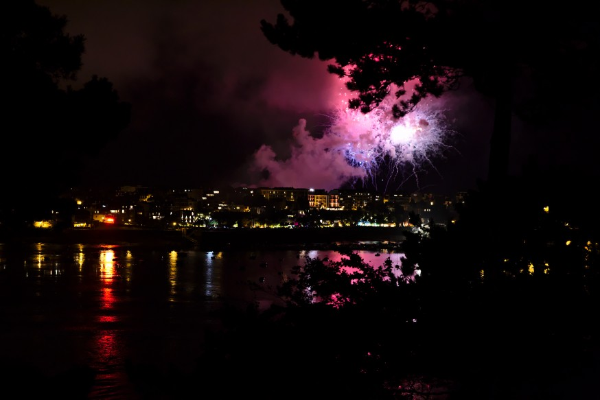 Dinard - Feu d'artifice estival