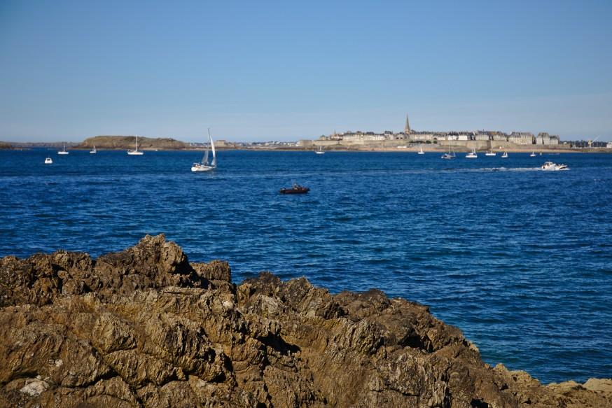 Dinard - Vue sur Saint-Malo