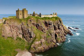 La beauté des paysages de Dunnottar Castle