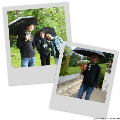 Avec caro jb et willy Schloss Linderhof