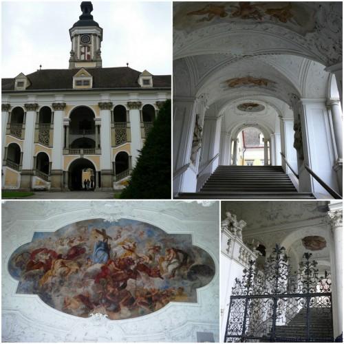 Escalier honneur Stift St Florian1