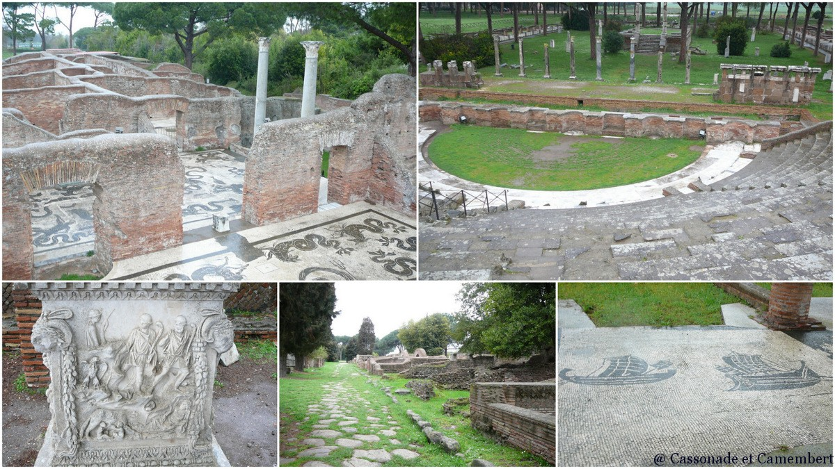 ostie le port de la rome antique cassonade et camembert