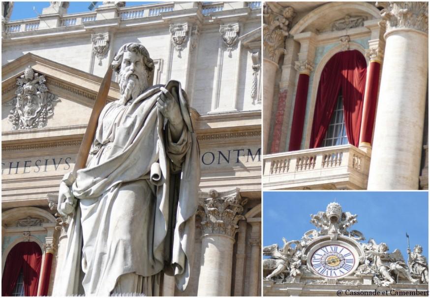 Place Saint Pierre details Vatican