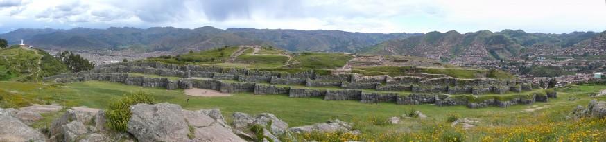 Vue panoramique sacsayhuaman