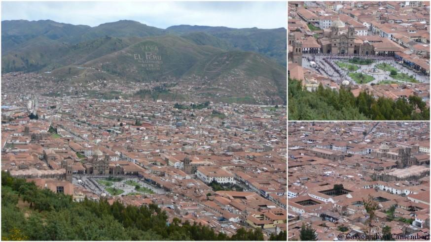 Vue sur Cuzco depuis Sacsayhuaman