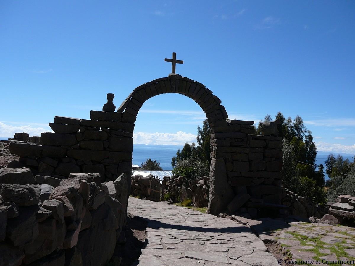 Arche village ile taquile lac titicaca