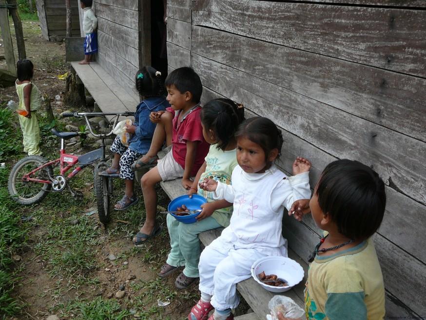 Gouter - Volontariat Selva Inka Pilcopata
