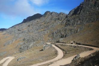 Route Cusco Paucartambo Passage de col