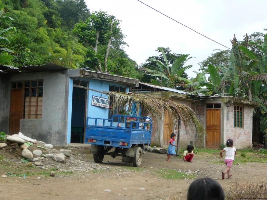 Salle de classe - Volontariat Selva Inka Pilcopata