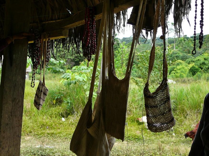 Comunidad nativa de Huacaria - Artisanat