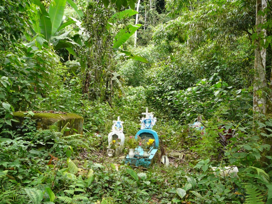 Comunidad nativa de Huacaria - Cimetière de Pilcopata