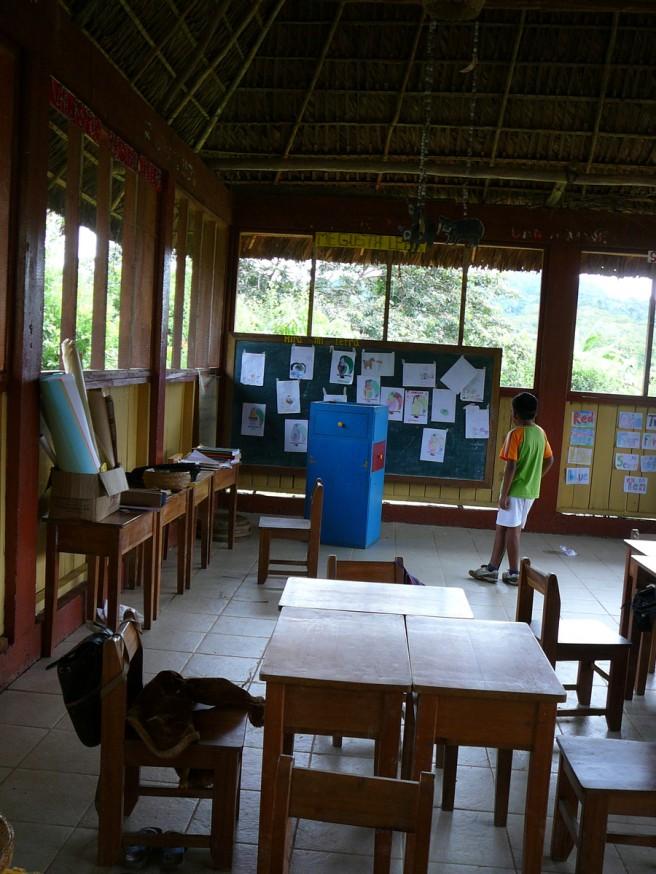 Comunidad nativa de Huacaria - Ecole