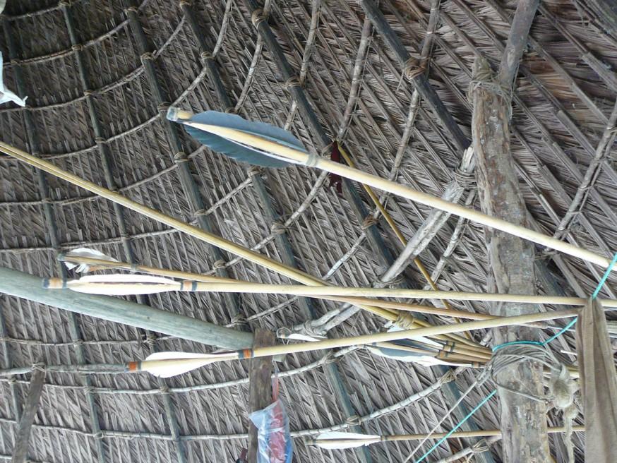 Comunidad nativa de Huacaria - Fleches